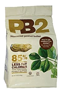 Bell Plantation PB2 Powdered Peanut Butter, 16-Ounce - 2 Pack