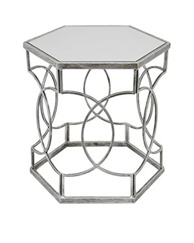 Three Hands Mirror Accent Table