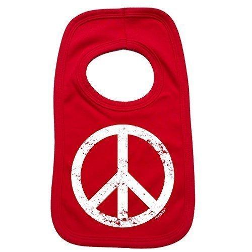 123t-Baby-PEACE-DESIGN-Baby-Ltzchen-Einheitsgre-rot