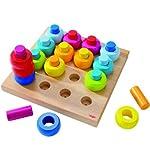 HABA 2202 - Steckspiel Farbkringel von HABA
