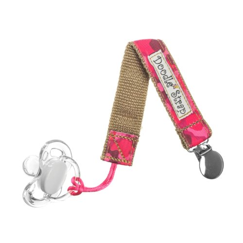 Doodle Strap Clip-It! (Pink Camo)