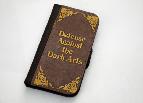 Harry Potter Defense Against the Dark Arts Samsung Galaxy S4 Leather Wallet Case