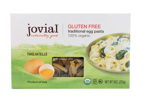 Jovial Organic Tagliatelle Traditional Egg Pasta Gluten Free -- 9 oz - 2 pc (Jovial Egg Pasta compare prices)