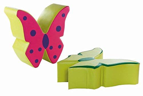 """Sitz- und Spielpodest """"Schmetterling"""" grün 36 cm online kaufen"""