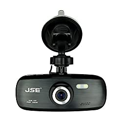 Free 16GB TF Card Car Black Box JSE CDR-157 Car Dash Cam -1920*1080P FHD H.264 2.7 LCD Car Camera DVR Recorder G-Sensor Night Vision Motion Detection WDR 140 Wide Angle 4X Zoom - Authentic NT96650 AR0330