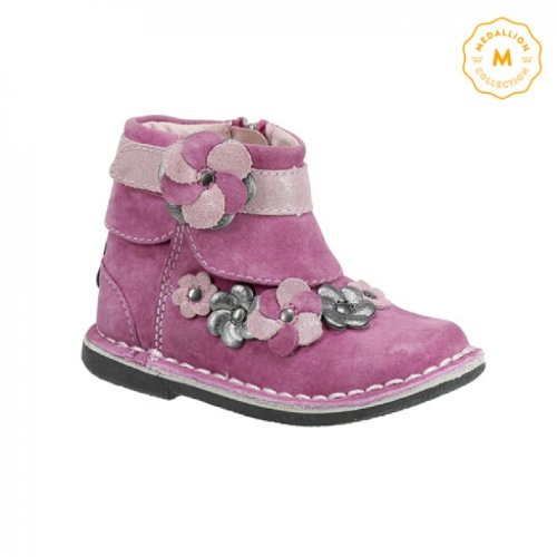 Stride Rite Medallion Collection Milania Boot (Toddler),Pink,5 W Us Toddler front-27884