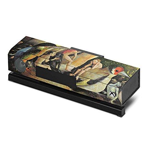 Microsoft-Xbox-One-Kinect-Case-Skin-Sticker-aus-Vinyl-Folie-Aufkleber-Hieronymus-Bosch-Der-Garten-der-Lste-Kunst
