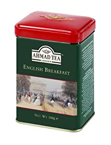 Ahmad Tea English Breakfast Tea, 3.5-Ounce Tins (Pack of 6)