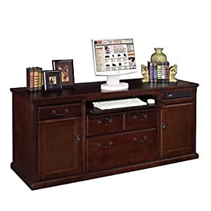 Huntington Cherry Computer Credenza Office Products