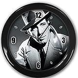 Humphrey Bogart Wall Clock Black Great Unique Gift Idea