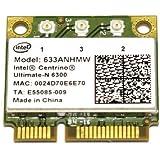 汎用 Intel Centrino Ultimate-N 6300 802.11a/b/g/n/ 450Mbps 無線LANカード (633ANHMW)