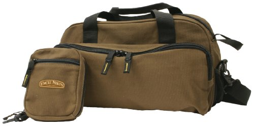 Uncle Mike'S Canvas Clay Shooters Range Bag (Brown, One Size)