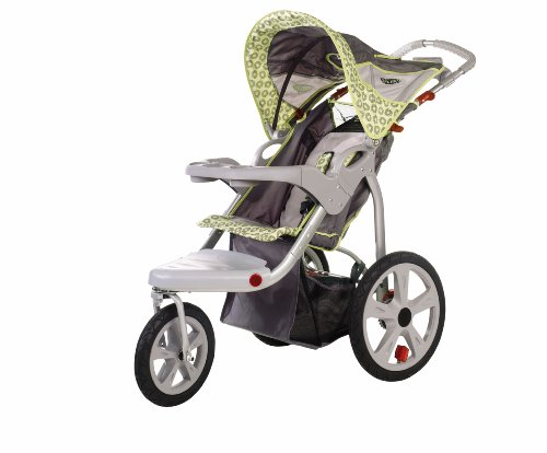InStep Safari Swivel Jogger, Gray/Green