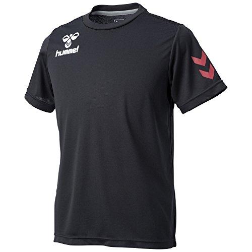 (ヒュンメル)Hummel ワンポイントドライTシャツ HAY2061 90 ブラック O