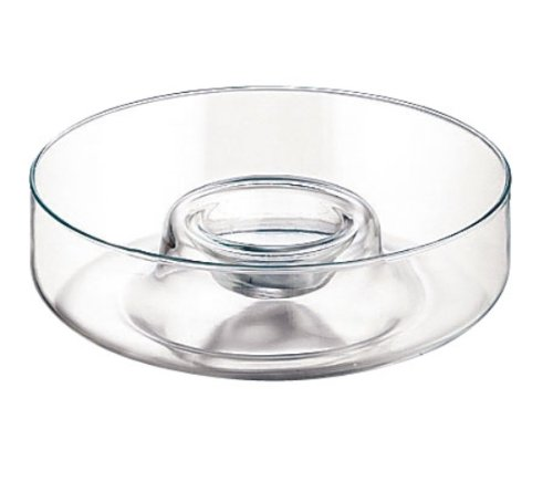 Libbey Selene 1-Piece 11-Inch Diameter Chip and Dip