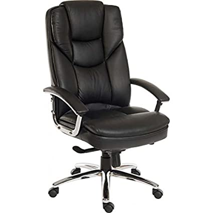 Teknik Skyline Luxury Italian leather faced chair