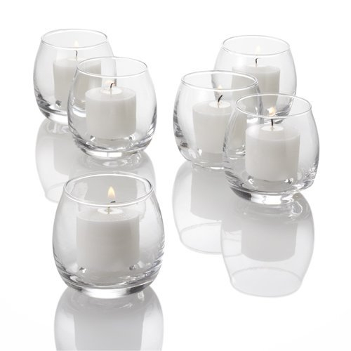 Eastland® Petite Hurricane Votive Holders Clear Set of 12