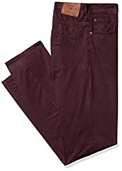 Gant Men's Regular Fit Jeans (8907036173628_GMJEF0023_34W x 36L_Maroon)
