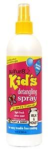 Sulfur 8 - Espray Desenredador para Niños de 355ml