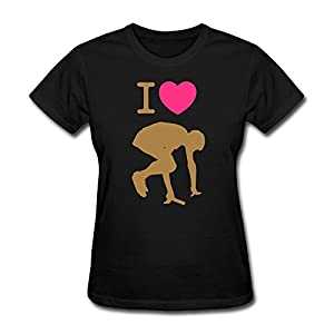 Love Running Racing T-Shirts For Women,Designer T Shirts
