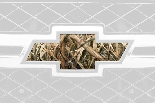 Mossy Oak Graphics 14010-SGB Shadow Grass Blades Auto Emblem Skin (Camo Truck Accessories compare prices)