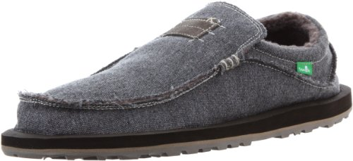 Sanuk Men's Kyoto Chill Slip-On,Taupe,11 M US