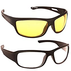 MagJons Day and night driving eye care Sunglasses Set Of 2 (With Box)