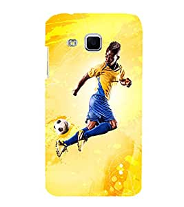 football the greatest sport of all time 3D Hard Polycarbonate Designer Back Case Cover for Samsung Galaxy J3 :: Samsung Galaxy J3 J300F