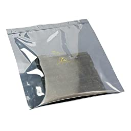 SCS 2110R Series Translucent Metal-Out Bag 21146 - 6 in Length - 4 in Wide - 3.2 mil Thick [PRICE is per PACK]