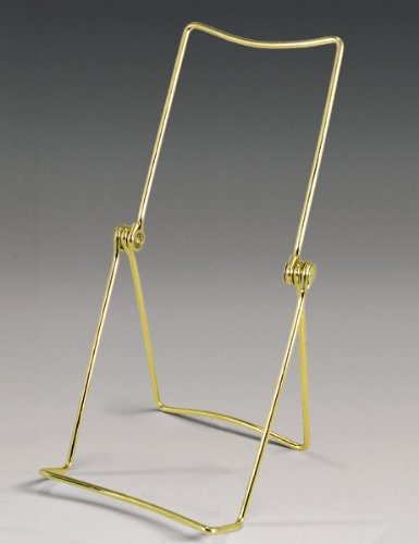 Adjustable Multi-position Brass Easel Pack of Two