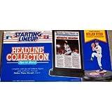 Nolan Ryan 1992 MLB Headline Collection Starting Lineup ~ Starting Line Up