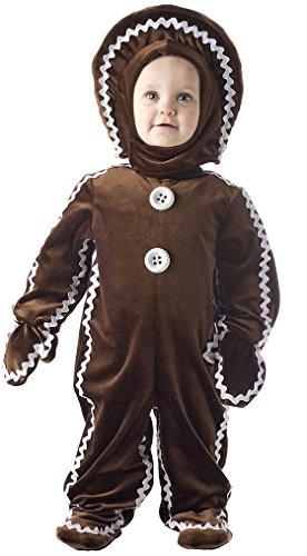 Gingerbread Man Toddler Costume