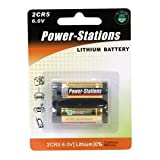 Power-Stations 2CR5 Photo Lithium Battery - Pack of 1
