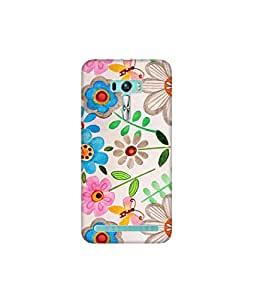 Kolor Edge Printed Back Cover for Asus Zenfone Selfie - Multicolor (4400-Ke10567ZenSelfieSub)