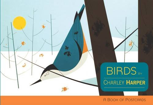 Birds by Charley Harper (Books of Postcards)
