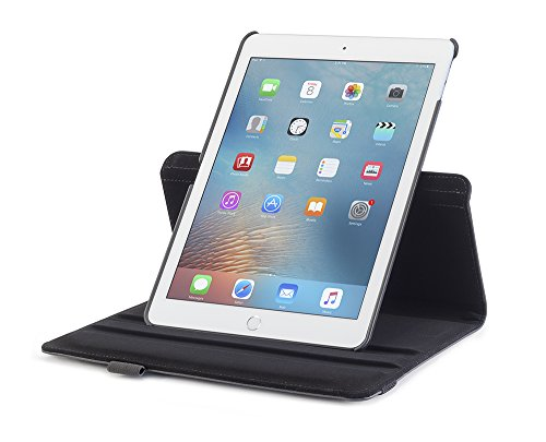 devicewear-ipad-pro-97-case-rotating-black-vegan-leather-multiple-position-stand-magnetic-on-off-swi