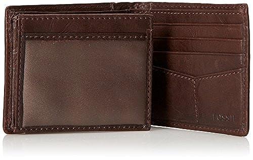 01. Fossil Men's Ingram Traveler Wallet