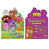 スターウォーズ Moshi Monsters 6 Party Invites Invitations Style Ma [並行輸入品]