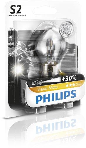 Philips 12728BW - S2 Moto Blister 1Pz, 12V, 35/35W BA20d