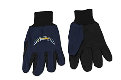 NFL Chargers Utility Gloves