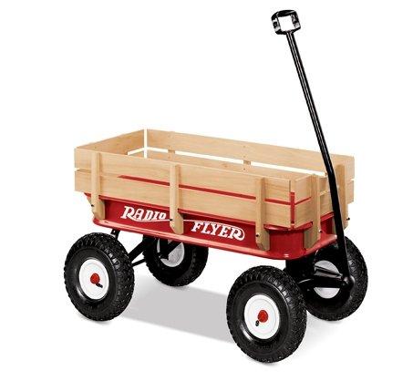 ラジオフライヤー Steel & Wood Wagon
