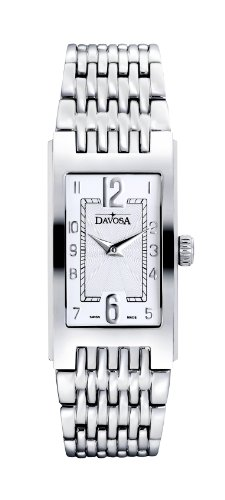 Davosa Argenta Women's Quartz Watch with Silver Dial Analogue Display and Silver Stainless Steel Bracelet 16855716