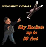 Set of 5 of Slingshot Flingshot Flying Animals with Sound Monkey Pig Cow Duck Frog