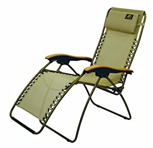 Alps mountaineering lay z lounger nylon mesh anti gravity for Anti gravity chaise recliner