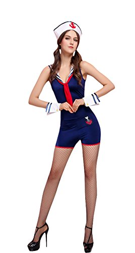 Ace Halloween Adult Women's Sexy Sailor Costumes