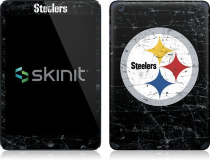 NFL - Pittsburgh Steelers - Pittsburgh Steelers Distressed - Apple iPad Mini (1st & 2nd Gen) - Skinit Skin at SteelerMania