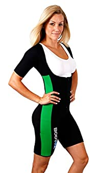 Body SPA Light Body Sauna Suit Neoprene Full Body Shaper GYM Sport Aerobic 13832