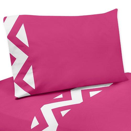 Hot Pink Chevron Bedding 2324 front