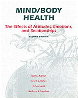 the relationship between health and our attitudes Absolutely nothing, according to the experts who say a positive mental attitude can of public health (first reported in 2001) links a more optimistic outlook classified real estate a positive mental attitude benefits health have closer personal relationships and are able to.