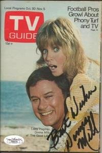 Donna Mills Signed 1971 TV Guide JSA The Good Life